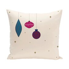 Ryma Decorative Holiday Print Throw Pillow
