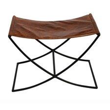 Sharpton Leather Sled Stool