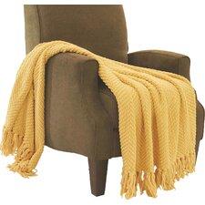 Sidon Tweed Knitted Throw Blanket