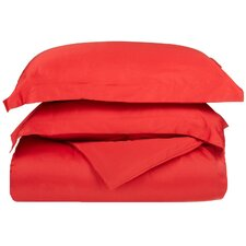 Weiss 300 Thread Count Solid Duvet Cover Set