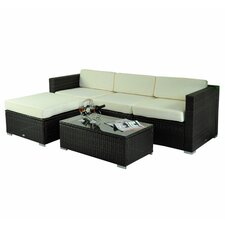 Camron Lounge 5 Piece Seating Group with Cushion
