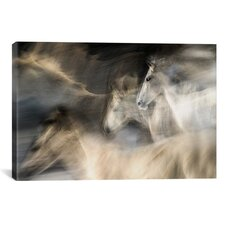 In Motion Graphic Art on Canvas