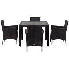 Mckenny 5 Piece Dining Set