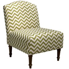 Zig Zag Back Slipper Chair