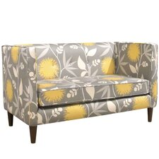 Marcial Five Button Loveseat
