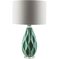 "Morlan 28.5"" H Table Lamp with Drum Shade"