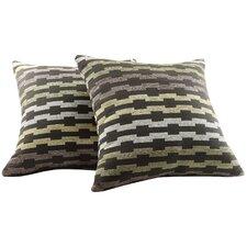 Alcina Throw Pillow in Rectangular Link (Set of 2)