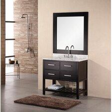 "Kristoph 36"" Single Vanity Set with Mirror"
