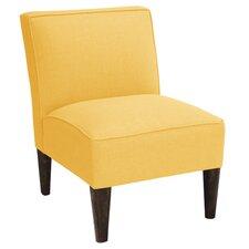Linen Armless Chair