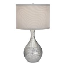 """Nicolette 21.5"""" H Table Lamp with Drum Shade"""