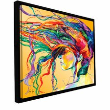 """""""Windswept"""" Framed Painting Print on Wrapped Canvas"""