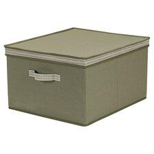 Fairbanks Cotton Storage Box with Sonic Trim Wave