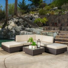 Marcano 6 Piece Deep Seating Group with Cushions