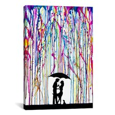 'Two Step' by Marc Allante Painting Print on Wrapped Canvas