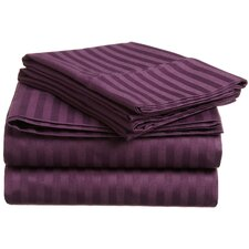 Mayne 400 Thread Count Premium Long-Staple Combed Cotton Sheet Set