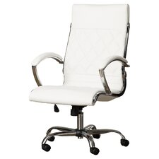 Camp Mabry Adjustable High-Back Conference Chair