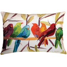 Osborne Birds Indoor/Outdoor Throw Pillow
