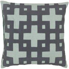 Bright Squares Cotton Throw Pillow
