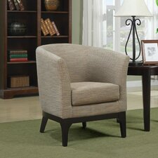 Galvan Fabric Lounge Club Chair
