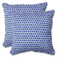 Eris Indoor/Outdoor Throw Pillow (Set of 2)
