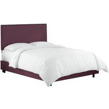 Whiteway Nail Button Border Panel Bed