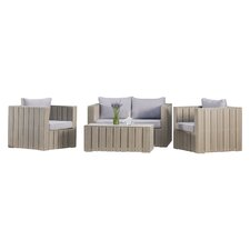 Sonoma 4 Piece Seating Group with Cushions