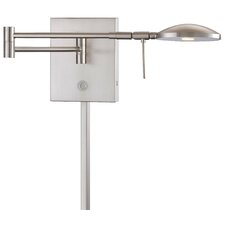 Jeffrey 1 Light Swing Arm Wall Lamp