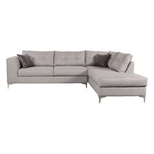 Godinez Right Hand Facing Sectional in Smoke