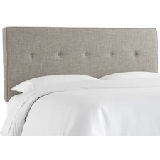 Deforest Tufted Polyester Upholstered Panel Headboard