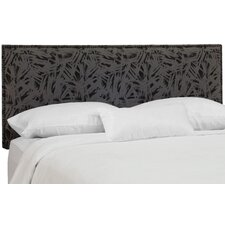 Frakes Cotton Upholstered Panel Headboard