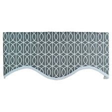 "Worle Cornice 50"" Curtain Valance"