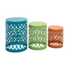 Same 3 Piece Side Table Set