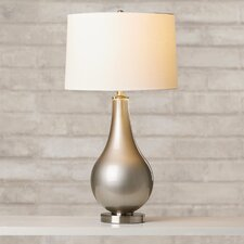 "Lowery 30.25"" H Table Lamp with Drum Shade"