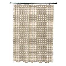 Agin Geometric Shower Curtain