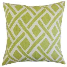 Moton Geometric Linen Throw Pillow