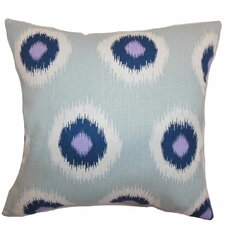 Shockey Ikat Throw Pillow