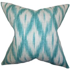 Maselli Ikat Cotton Throw Pillow