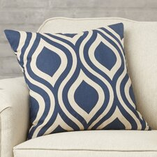 Brock Geometric Cotton Throw Pillow