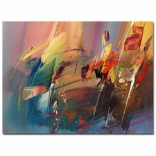 Rayan Painting Print on Wrapped Canvas
