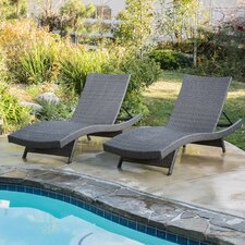 Haage Sidempuan Adjustable Chaise Lounge