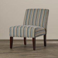 Perillo Linen Slipper Chair