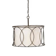Tadwick 3 Light Drum Pendant