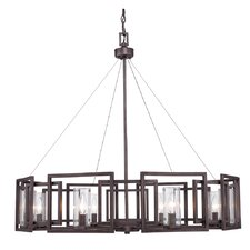 Politte 9 Light Drum Chandelier