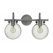 Howells 2 Light Bath Vanity Light