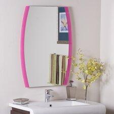 Mahagony Framed Wall Mirror