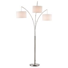 "Utecht 74"" Arched Floor Lamp"