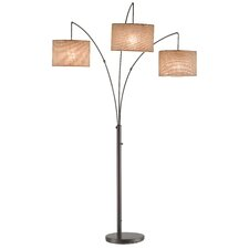 "Utecht 3 Light 74"" Arched Floor Lamp"
