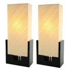 """Calahan 24"""" H Table Lamp with Rectangular Shade (Set of 2)"""