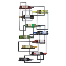 Haviland 10 Bottle Wall Mounted Wine Rack