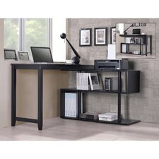 Browder Computer Desk with Shelf